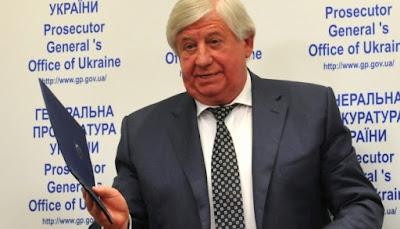 """Генеральный прокурор Шокин заявил, что дело о расстреле Майдана """"практически расследовано"""""""