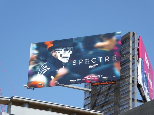 Spectre movie billboard