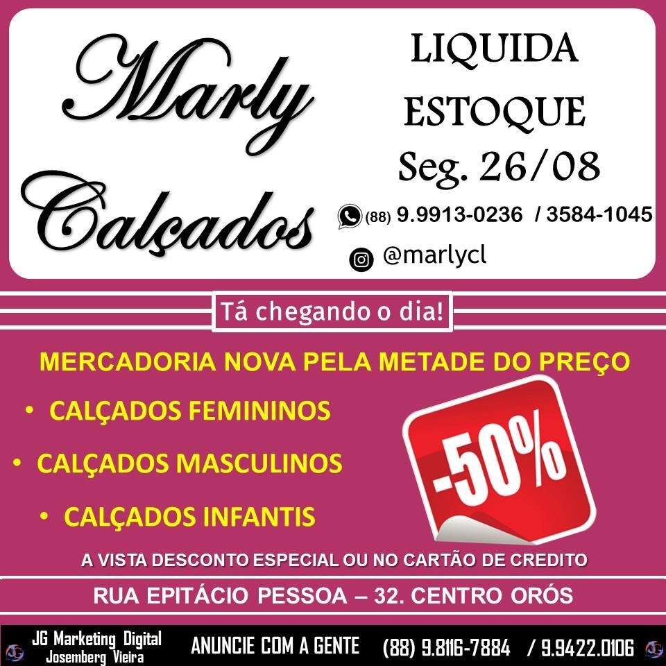 LIQUIDA ESTOQUE MARLY CALÇADOS