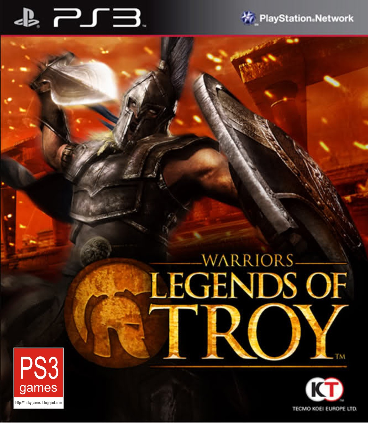 Warriors Legends of Troy - PS3