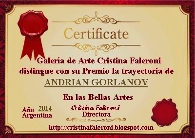 Andrian Gorlanov - Premiado