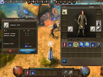 Drakensang Online - Upgrading