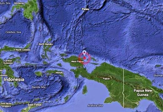 Gempa Bumi Gegar Irian Jaya Indonesia