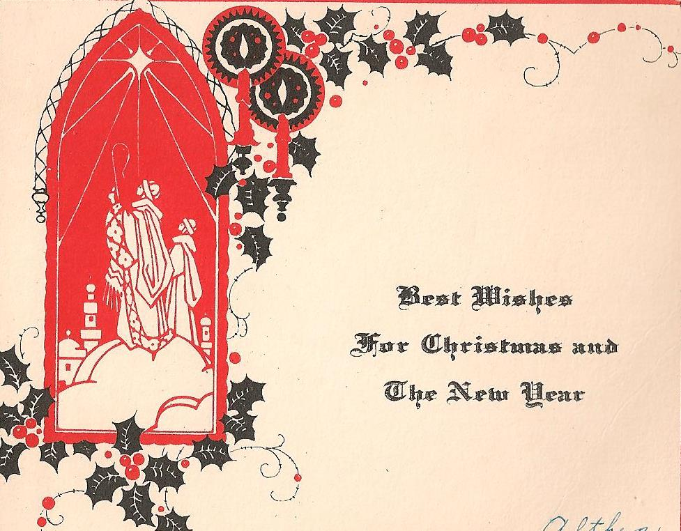 bumble button: Just Christmas!1910-20's Christmas cards & Seals ...