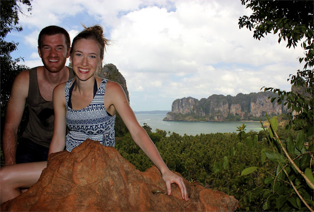 railay beach lookout thailand