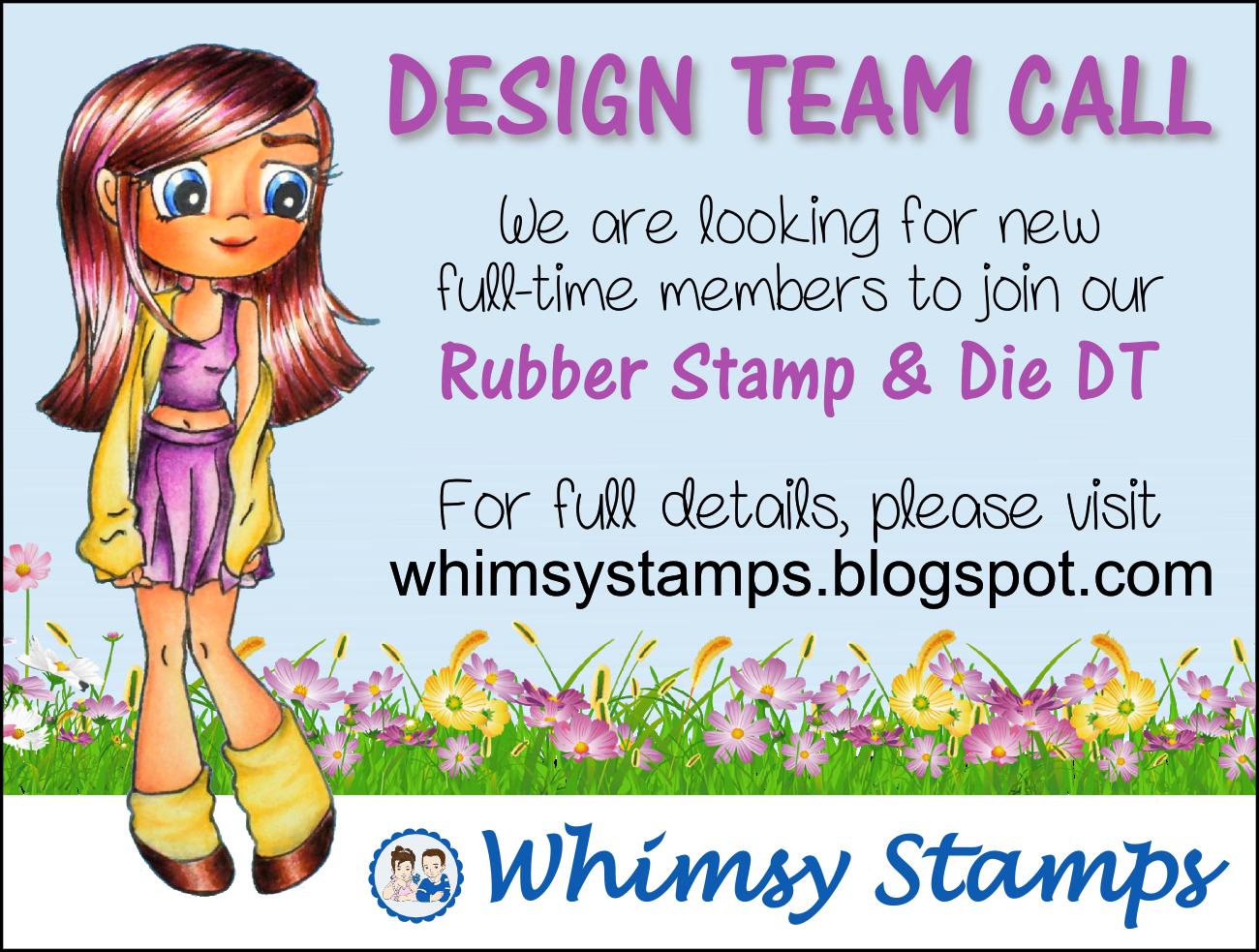 http://whimsystamps.blogspot.co.uk/2014/10/design-team-call.html