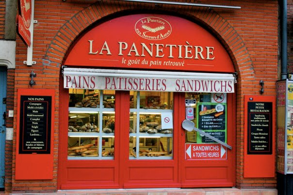 French bread shop, Toulouse, French Pastry