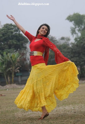 Bangladeshi model and actress Bidya Sinha Mim