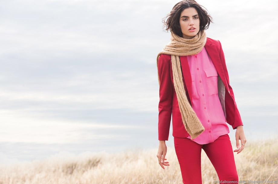 Ayres otoño invierno 2015. Moda otoño invierno 2015 trajes de mujer.