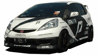 Juara Modifikasi Honda Jazz Tuning Contez