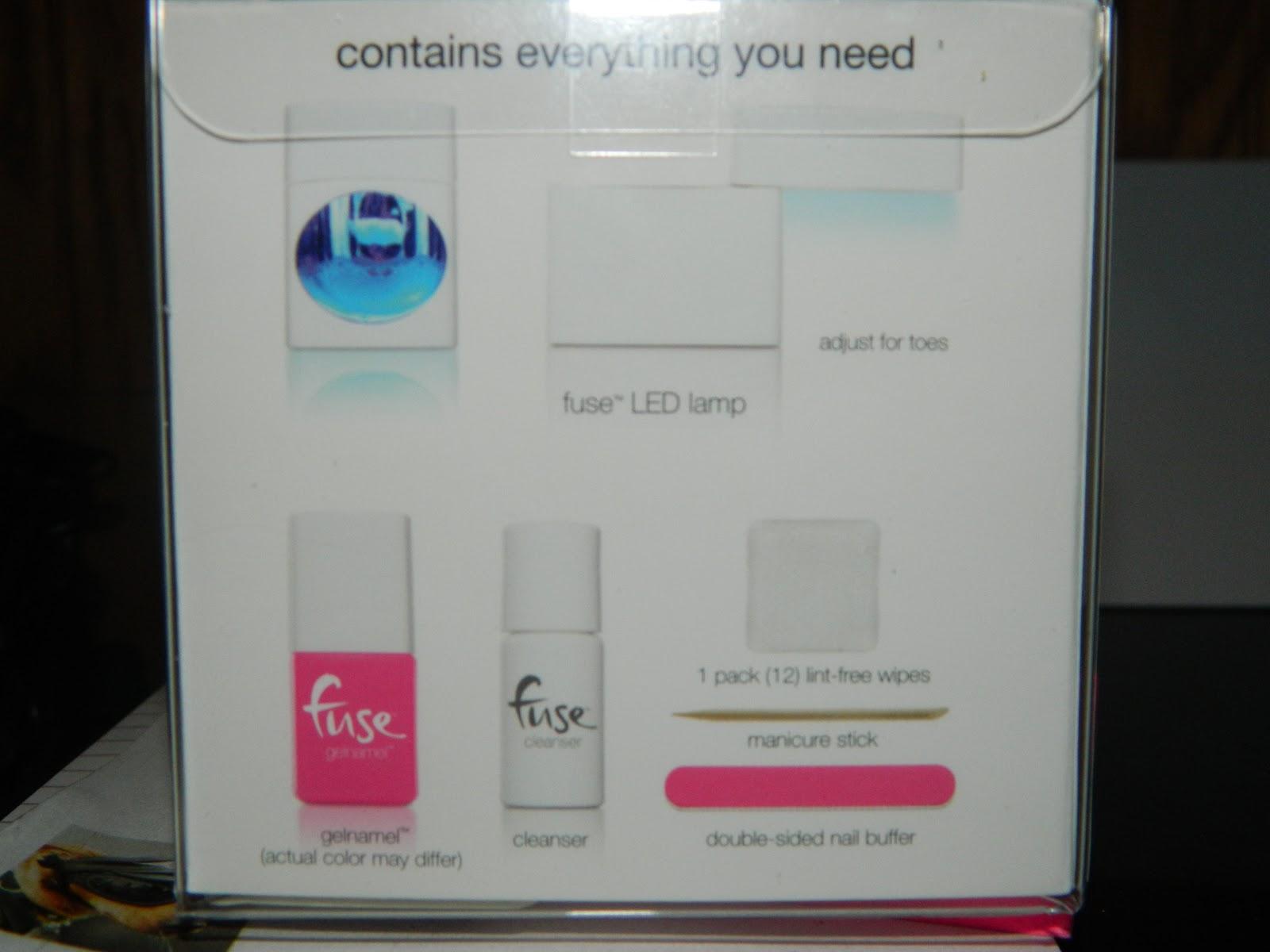 cutting edge polish : fuse gel nail polish starter kit,