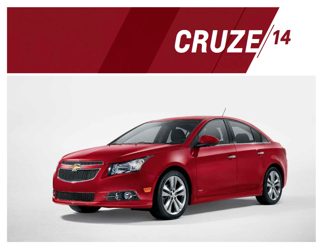 2014 Chevrolet Cruze Brochure