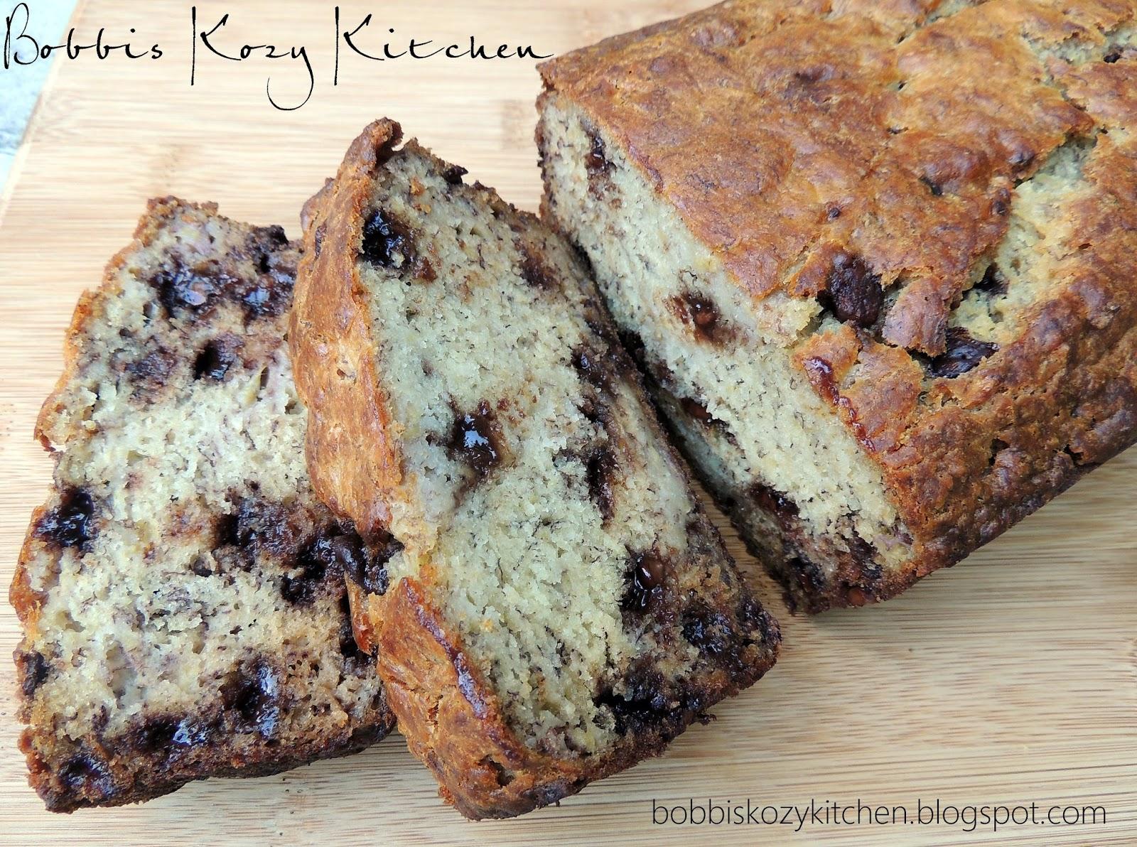 Chocolate Chip Banana Bread | Bobbi's Kozy Kitchen