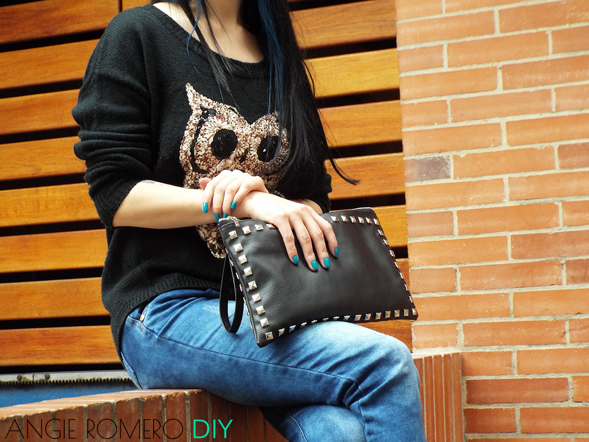 Clutch bag inspirado en VALENTINO - ROCKSTUD