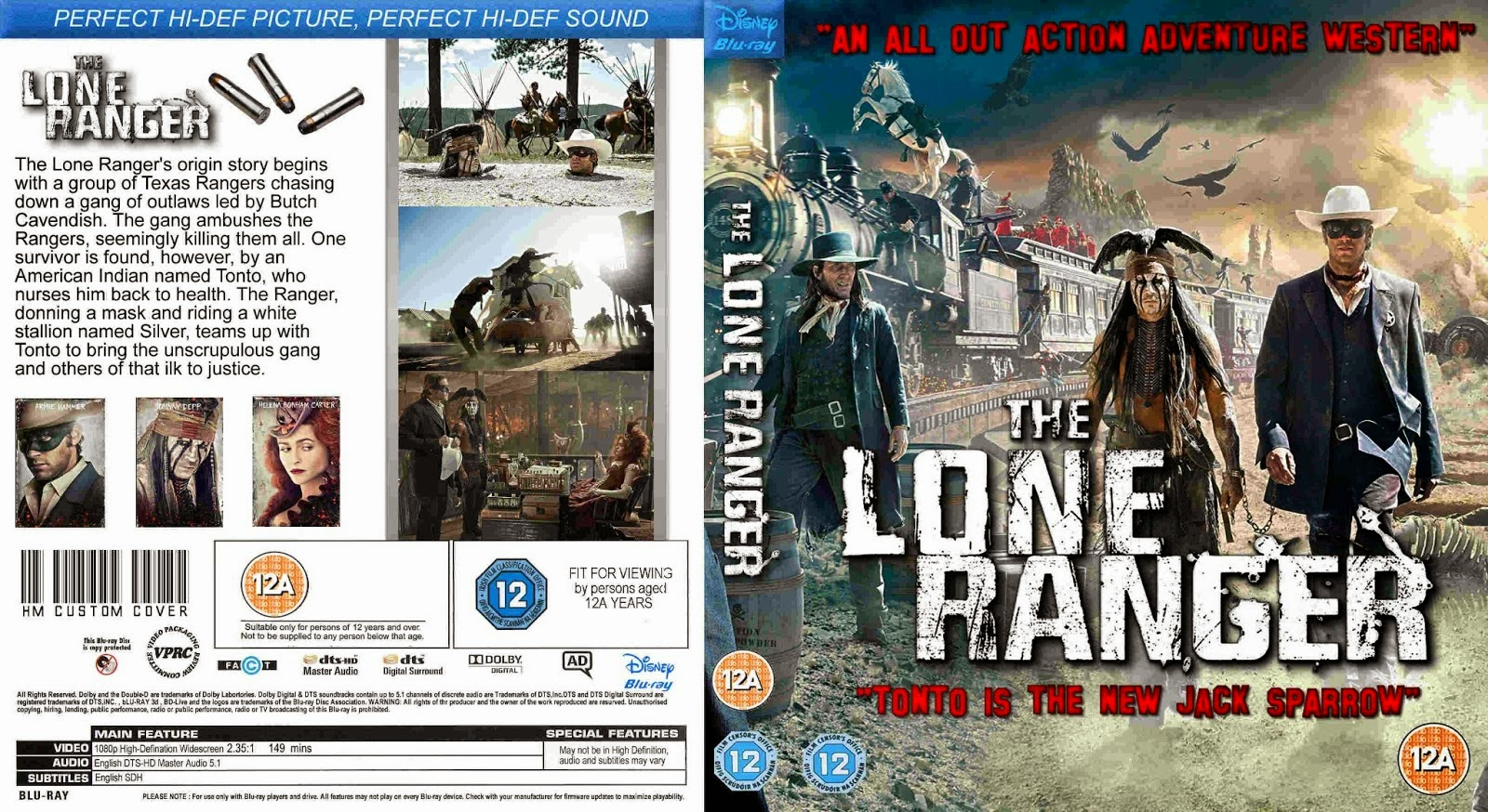 3gpcell covers the lone ranger