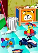 Уборка Детская комната - Онлайн игра для девочек