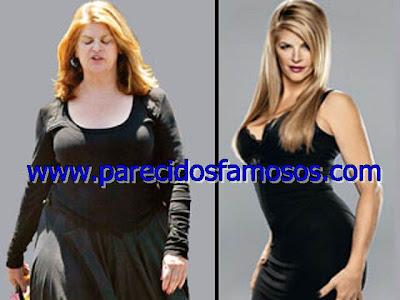 Kirstie Alley antes y despues