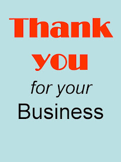 thank you for business on Power Marketing blog