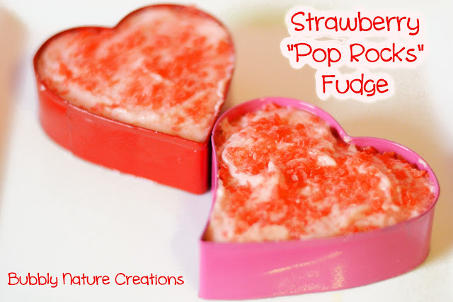 "strawberrypoprocksfudge Strawberry ""Pop Rocks"" Fudge"