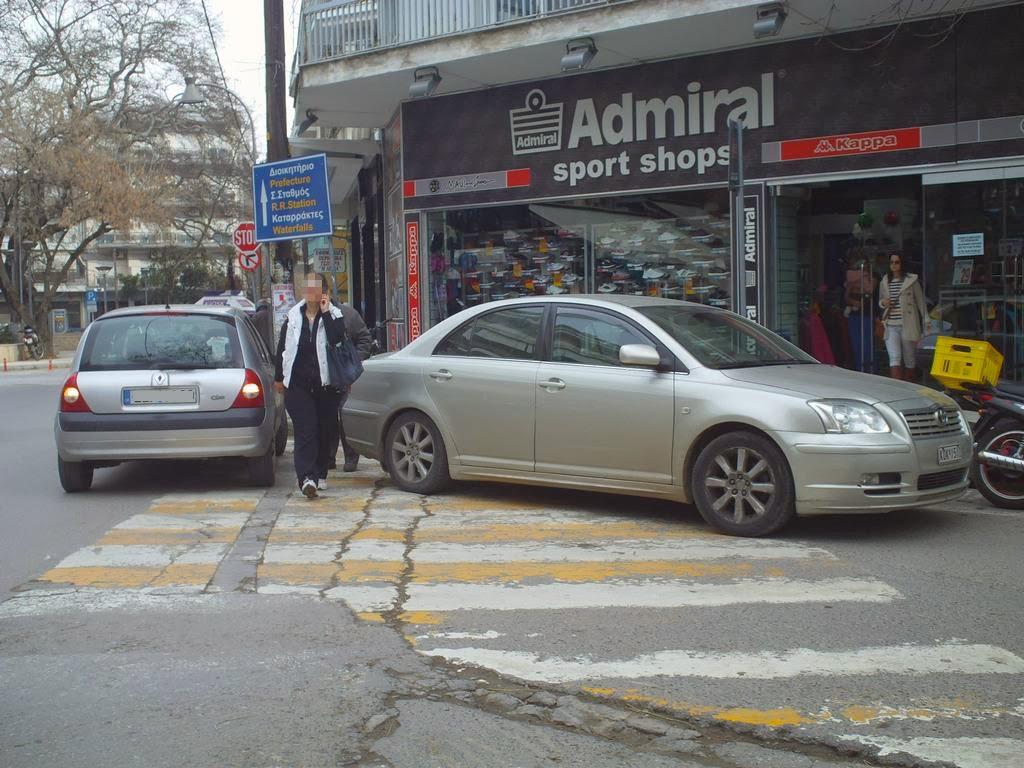 Προεκτάσεις και πεζοδρομήσεις μετέτρεψαν διαβάσεις πεζών σε parking
