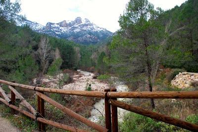 Valle de Tus, Estrecho del Diablo (Los Palancares) en Yeste (Tus)