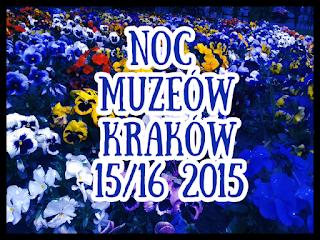 Noc muzeów Kraków 2015