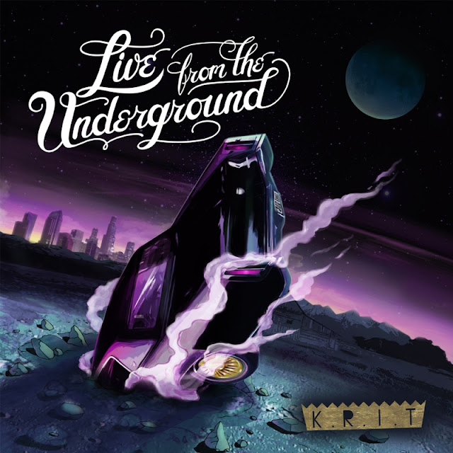 [Album Cover] Big K.R.I.T. – Live From The Underground