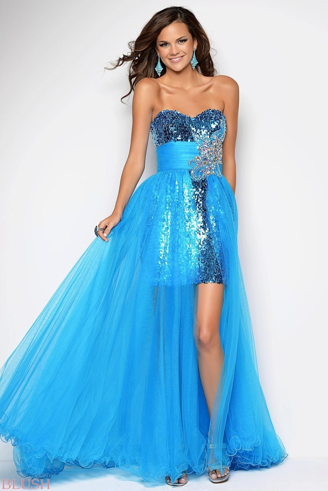 Some Models Dress Women: 2013 Prom Dresses Collection From Blush Prom