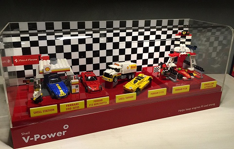 My brick store shell v power lego 2014 2015 collection for Case lego city