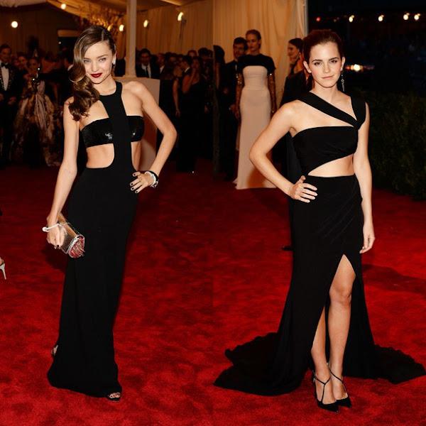 Miranda Kerr y Emma Watson. moda Punk
