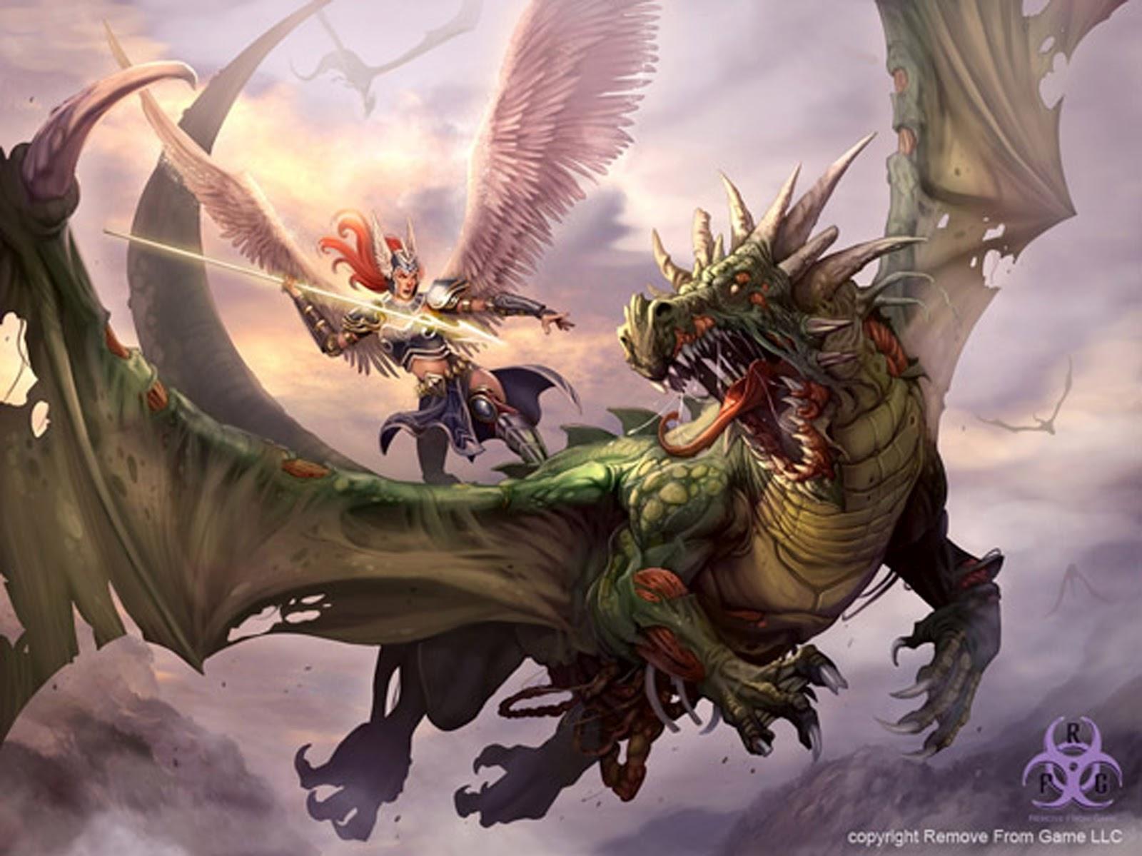 Fantasy+sci+fi+dragon+wing+serpentine+serpent+concept+art+design+angel vs dragon zombie by kikicianjur d52bukv