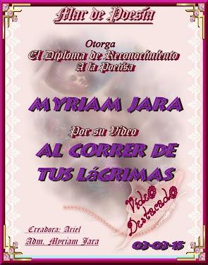"""""""AL CORRER DE TUS LÁGRIMAS"""""""