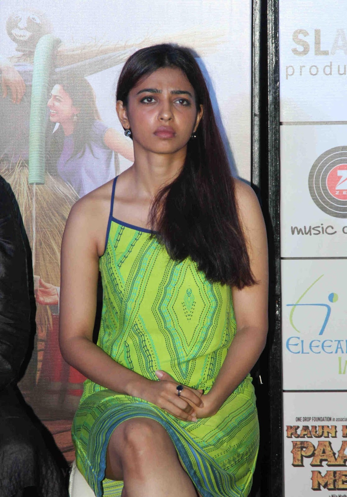 Radhika Apte Looks Super Sexy At Film 'Kaun Kitne Paani Mein' Trailer Launch In Mumbai