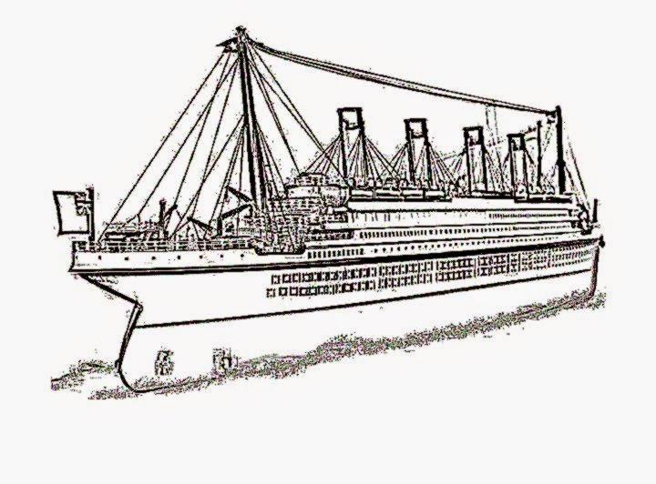 100 ideas Titanic Coloring Pages on wwwgerardduchemanncom