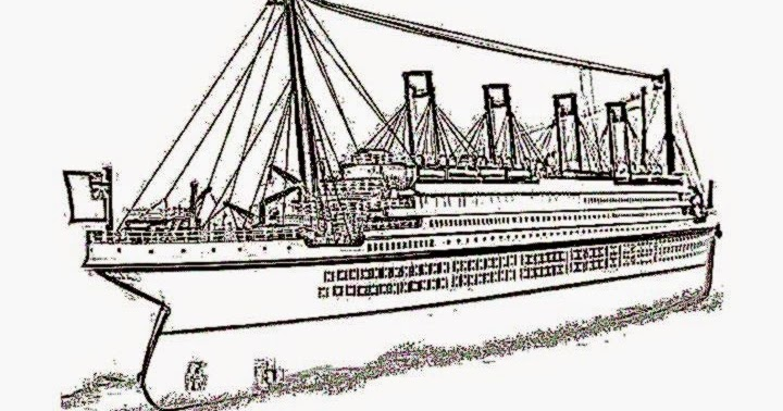 titanic coloring sheets free coloring sheet
