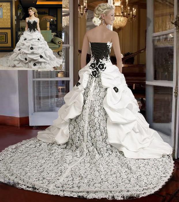 Wedding dresses design with black corset dressespic 2013 for Black corset wedding dresses