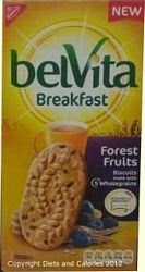 Belvita breakfast biscuit forest fruits