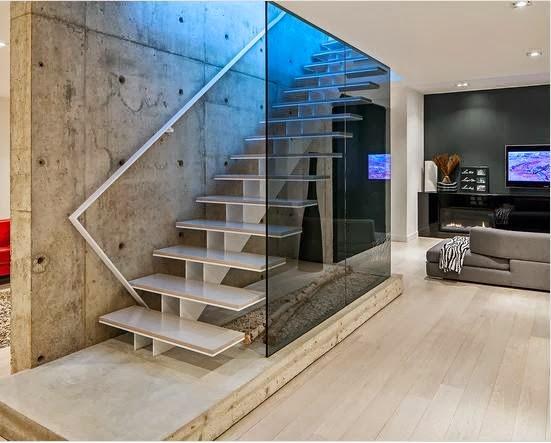 Model Desain Tangga Melayang Rumah Mewah