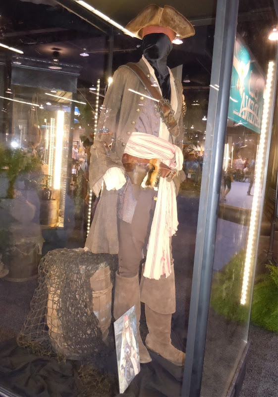 Jack Sparrow movie costume