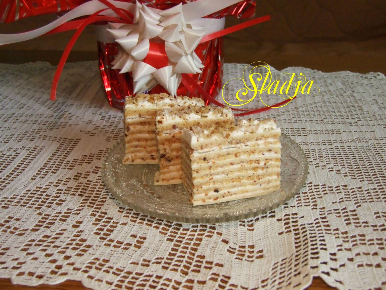 POSNA LEŠNIK TORTA