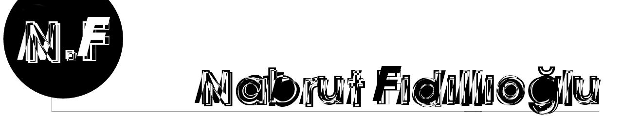 Nabrut Fıdıllıoğlu Kişisel Blog