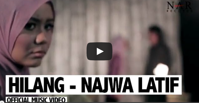Hilang Najwa Latif Official Muzik Video