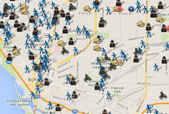 SpotCrime The Publics Crime Map 2013