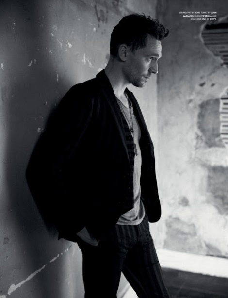 Tom Hiddleston by Jason Hetherington
