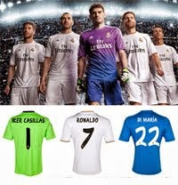 Real Madrid C.F Typeface 2014