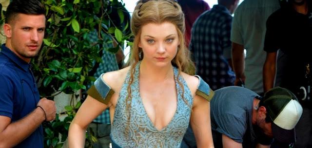Filmarile Pentru Sezonul 4 Game Of Thrones - In Imagine Natalie Dormer (Margaery Tyrell)
