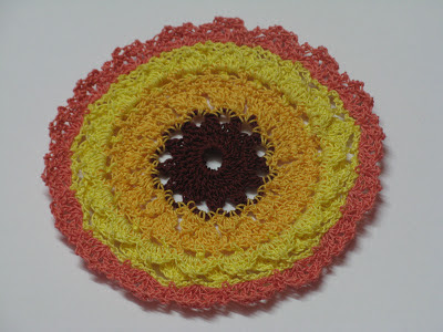 crochet little mini doily