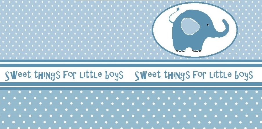 Sweet things for little boys