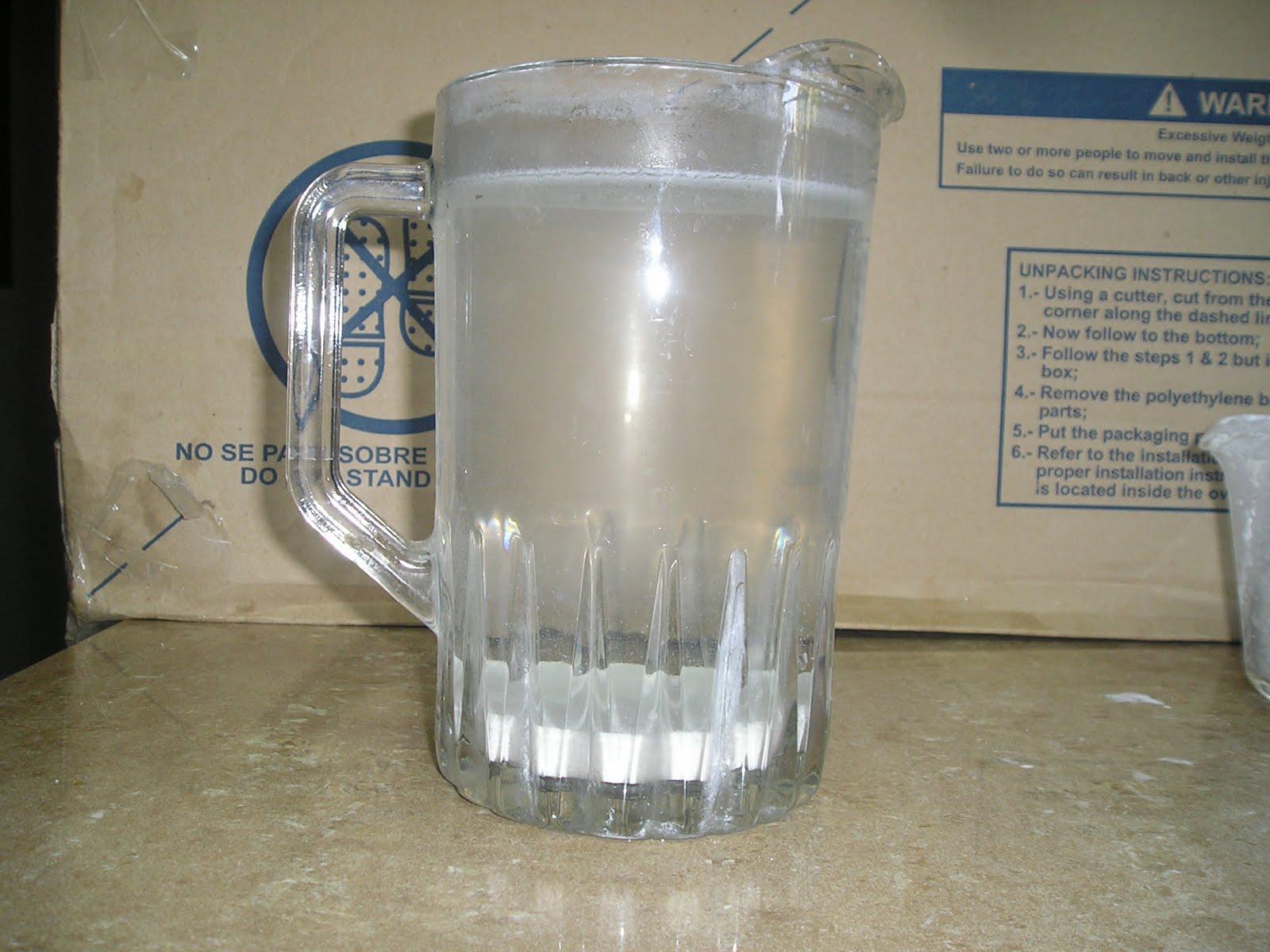 Eliminar la cal del agua stunning cmo limpiar la plancha - Eliminar cal agua ...