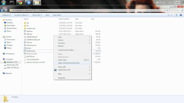 Tutorial Install CWM di XPERIA E / E Dual